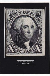 United States Of America Stamp X Cent Issue of 1847