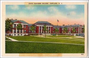 State Teachers College, Cortland NY