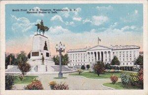 South Front Of U S Treasury Washington D C