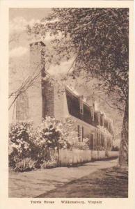 Virginia Williamsburg Travis House Albertype