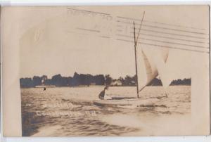 RPPC, Sailing, Constantia NY