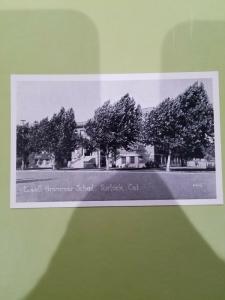 Antique Postcard, Lowell Grammar School, Turlock, Cal. 6445