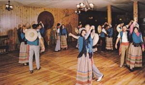 Folkloric Dancing, Hotel Motel Cap Aux Pierres, CHARLEVOIX, Quebec, Canada, 4...