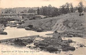 South Africa Howick Natal Umgeni-River and Mccallum Bridge 1905