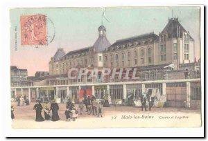 Malo les Bains Old Postcard Casino e tLogettes