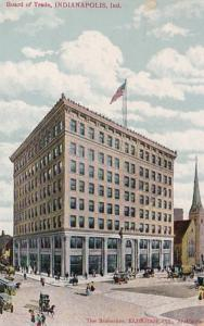 Indiana Indianapolis Board Of Trade 1908