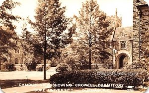 Campus View Showing Crowell Dormitory in Durham, North Carolina