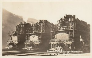 RP: Alleghany-Type Train Engines , West Virginia, 1930s-40s