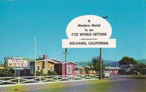 California Solvang A Modern Motel In An Old World Setting