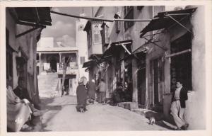 RP: Sidi Bou Said , Tunisia , 1910s ; Une Rue