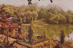 Goa Meyem Lake Resort India Indian Postcard