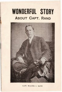 Capt Rand and his Lucky Stones - 28 page booklet - c.1910 + -