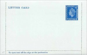 Entier Postal Stationery Postal Britain Great Britain 4d
