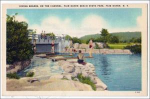 Diving Boards, Fair Haven NY