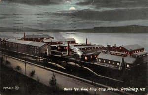 Sing Sing Prison Ossining, New York, USA 1909 postal marking on front