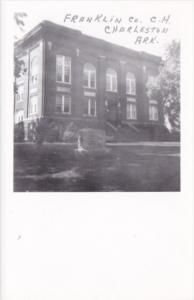 Franklin County Court House Charleston Arkansas Real Photo