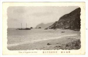 View of Sogaura Sea shore , Japan, 1910-30s