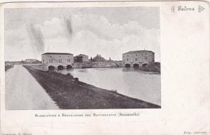 PADOVA, Veneto, Italy, 1900-1910´s; Scaricatore E Regolatore Del Bacchiglione