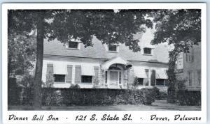 DOVER, Delaware  DE     Roadside  DINNER BELL INN    Postcard
