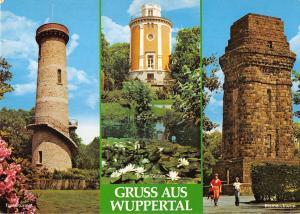 GG12566 Gruss aus Wuppertal Toelleturm Botan. Garten Bismarckturm