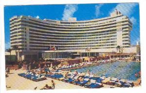 MIAMI BEACH , Florida , 40-60s ; Fontainebleau Hotel