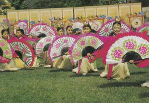 SOUTH KOREA, 1950-1970's; Korean Traditional Fan Dance