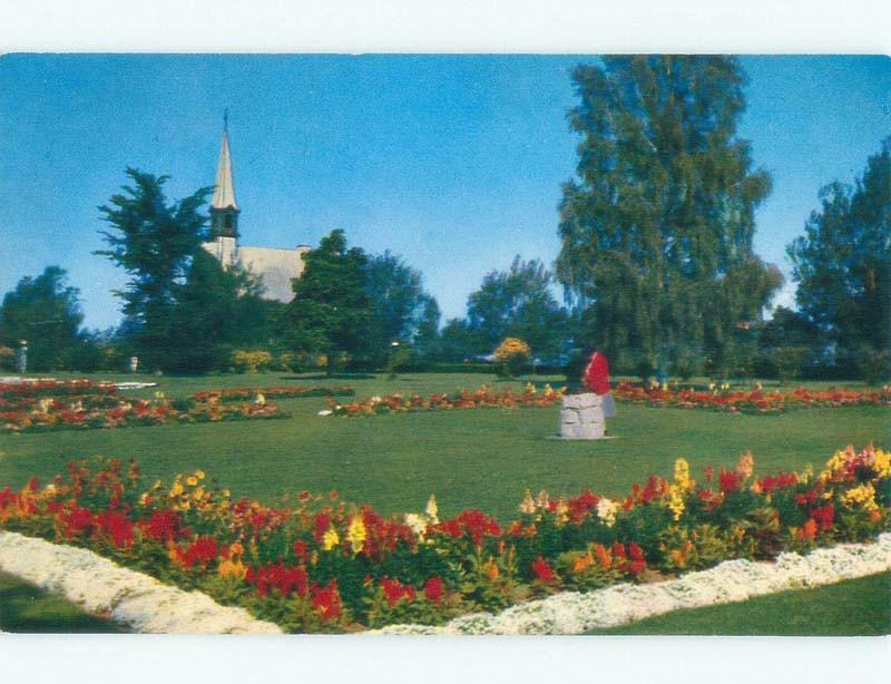 Unused Pre-1980 PARK SCENE Grand Pre - Near Dartmouth Nova Scotia NS c7322-12