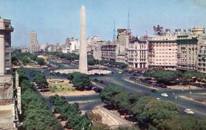 Argentina - Buenos Aires, View of Avenue 9th of July