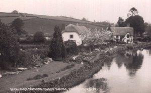 Bickleigh Cottage Guest House Devon Real Photo PB Postcard