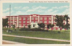 Nebraska Chadron Womens Hall Chadron State Teachers College