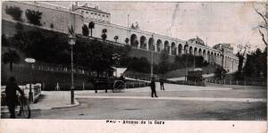 CPA PAU Avenue de la Gare (412153)