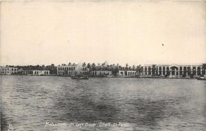 br104185 mohammerah left bank shatt el arab  real photo iraq
