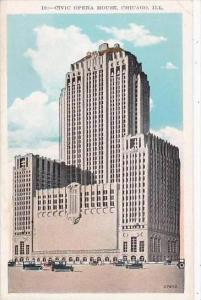 Illinois Chicago Civic Opera House