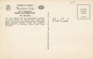 EUREKA , California, 1940-60s ; Thunderbird Lodge