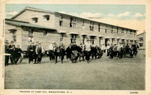 U.S. Military, WWI. Camp Dix, Wrightstown, NJ. Soldiers Training