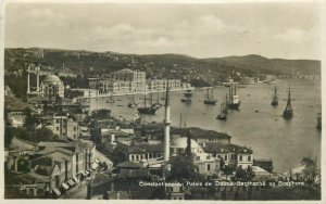 Turkey Constantinople Istanbul Dolma Palace Bagtsche Bosphorus Mosgue islam 30s