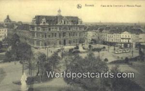 Anvers, Belgium, België, la Belgique, Belgien Place de la Commune et Athenee...