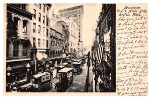 Massachusetts Boston , Newspaper Row and Ames Building