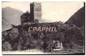 Postcard Luchon Old Castle Tower Castelvieil