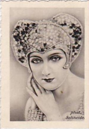 GARBATI CIGARETTE CARD FAMOUS DANCERS NO 220 EDMONDE GUY