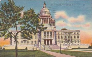 Rhode Island Providence State House1937