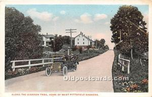Along the Lebanon Trail, Home of the West Pittsfield Shakers Pittsfield, MA, ...