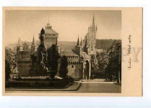 246995 POLAND KRAKOW view Vintage Ars Sacra postcard