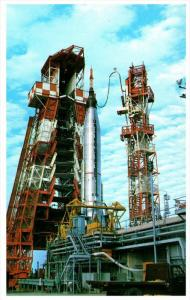 Atlas-Mercury readied for launch   John F.Kennedy Space Centers N.A.S.A.