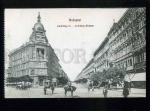 213554 HUNGARY BUDAPEST Andrassy street JOSEF shop Vintage