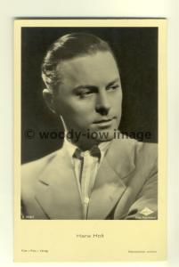 b1171 - German Film Actor , Hans Holt - postcard