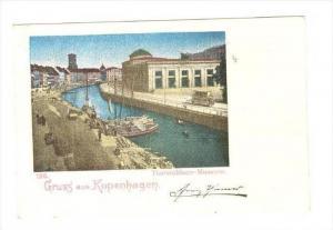 Gruss aus Kopenhagen, Danmark, 1890s : Thorwaldsen - Museum