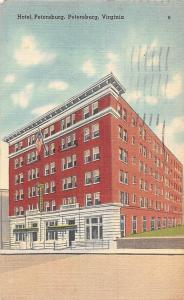 USA Hotel Petersburg, Virginia postcard