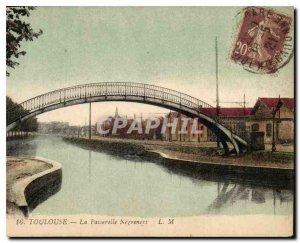 Old Postcard Toulouse Gateway Negreneys