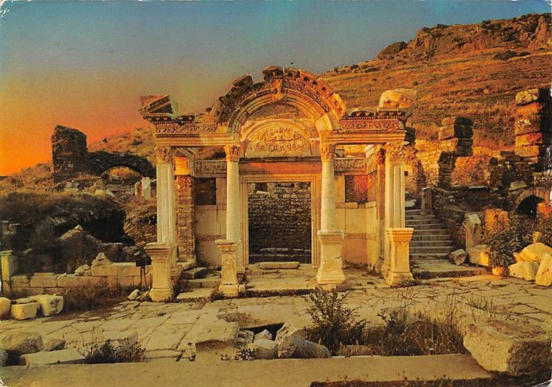 Turkey Efes The Temple of Hardiyanus Mabedi